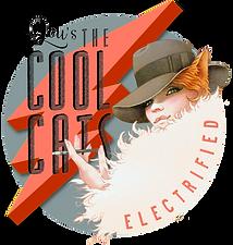 Lou's The Cool Cats, Vintageband aus Köln, Electrified Logo