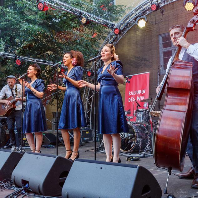Live Swing für das hundertjährige besteh