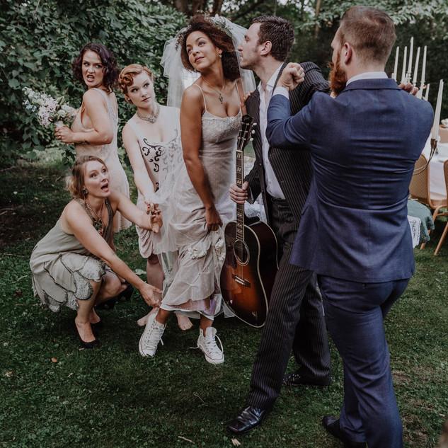 Lou's The Cool Cats als Hochzeitsband