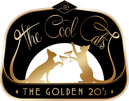 Das neue 20er Jahre Logo der Swing Band Lou's The Cool Cats
