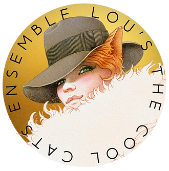 Lou's The Cool Cats Ensemble Logo