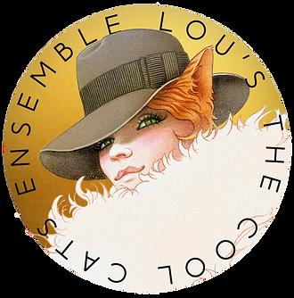 Lou's The Cool Cats Ensemble Logo