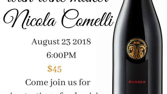 Italian Wine/Food Pairing