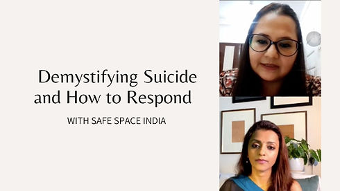 Demystifying Suicide and How to Respond.