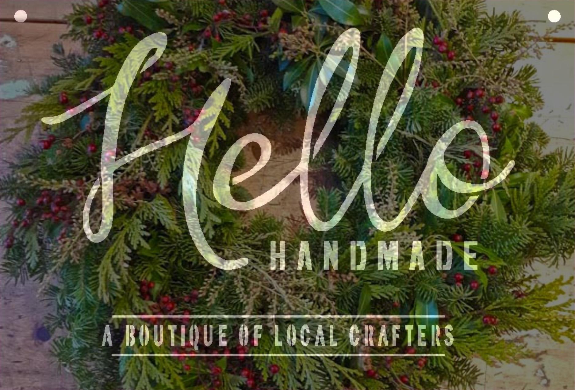 Hello Handmade Wreath Workshop