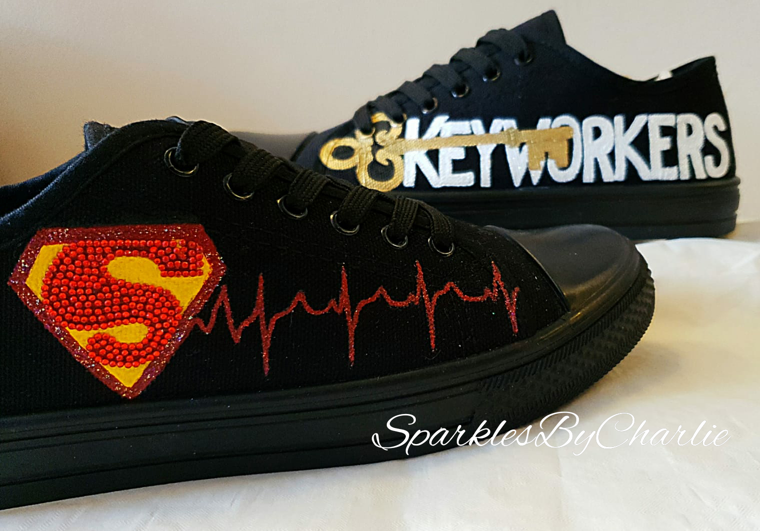 Key Worker Superhero Shoes