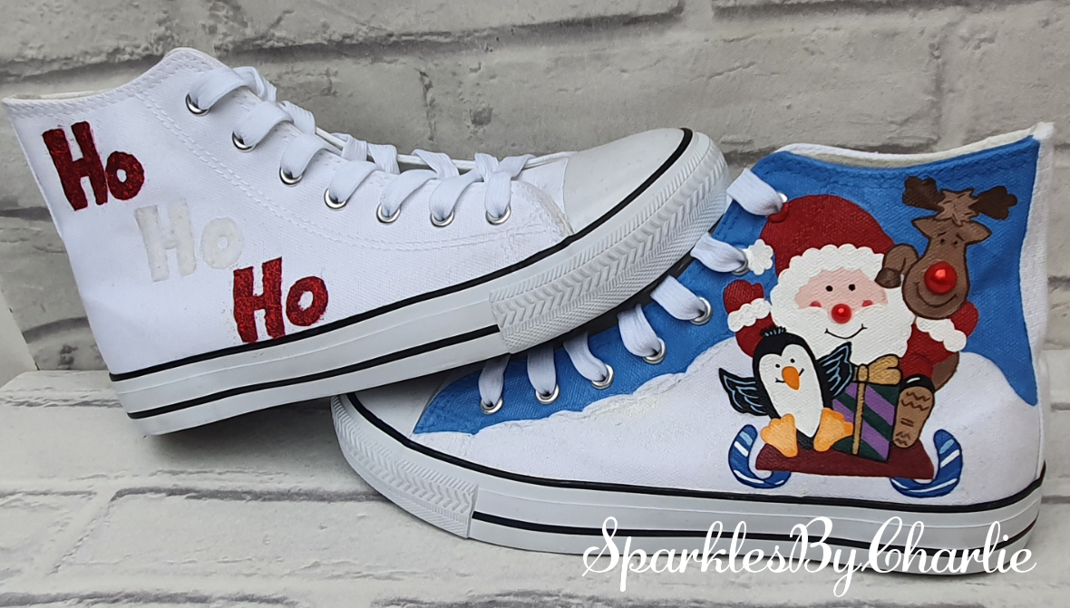 White Christmas HighTop