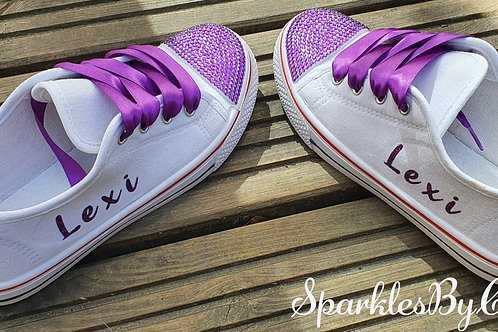 Children's Personalised Wedding Shoes