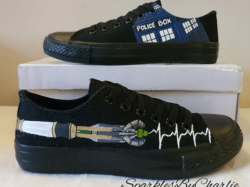 Dr Who Custom shoes