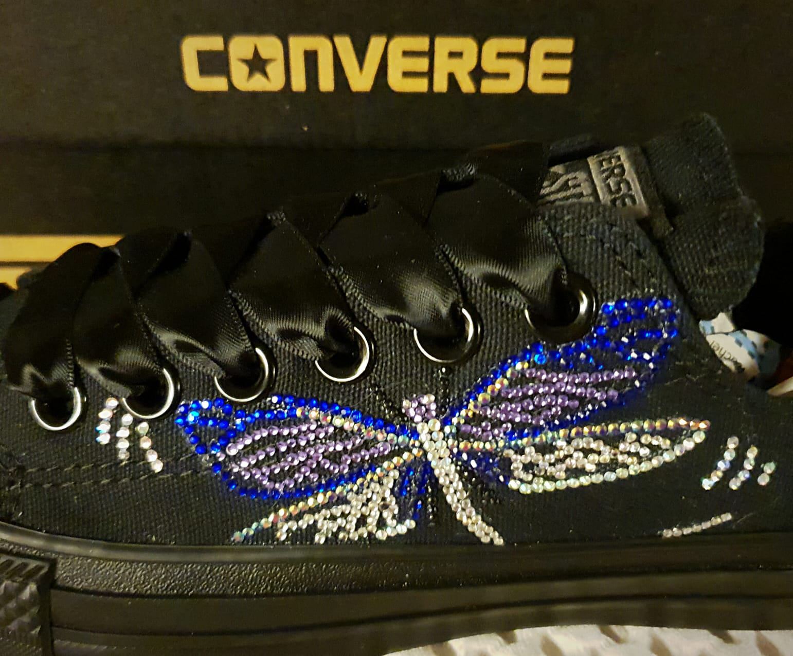Converse Dragon Fly Design Low Top