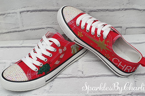 Low top Christmas Pumps
