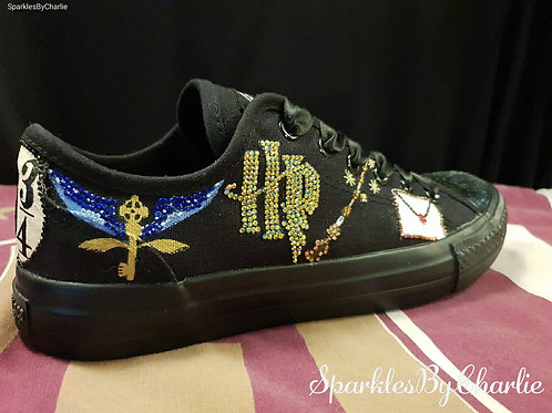 Harry Potter Custom Canvas Shoes