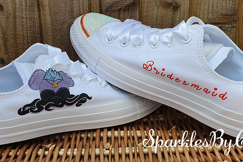 The Little Mermaid Themed Converse