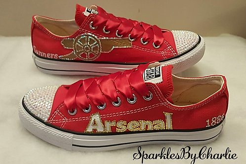 Arsenal FC Converse Low Top Pumps