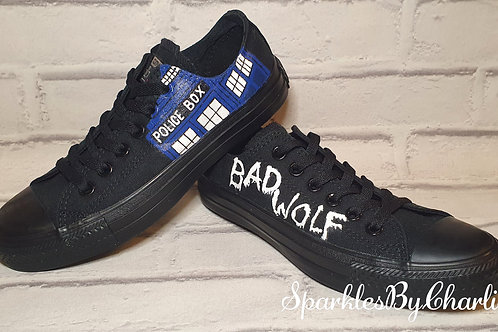 Dr Who Converse Low Tops