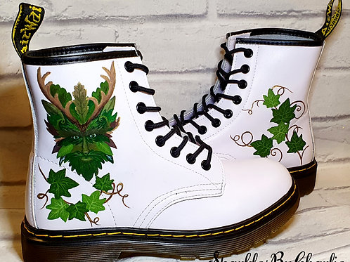 Personalised Dr Martens - The Green Man