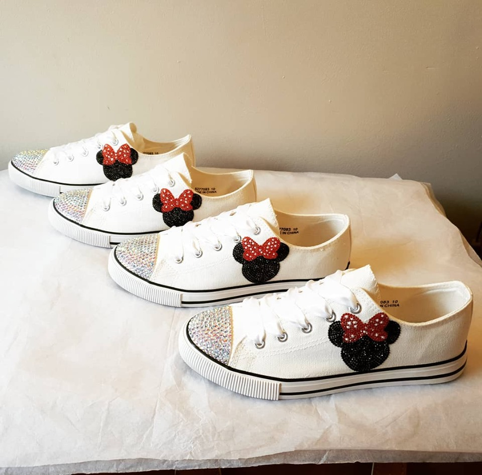 Minnie Mouse Wedding Shoes