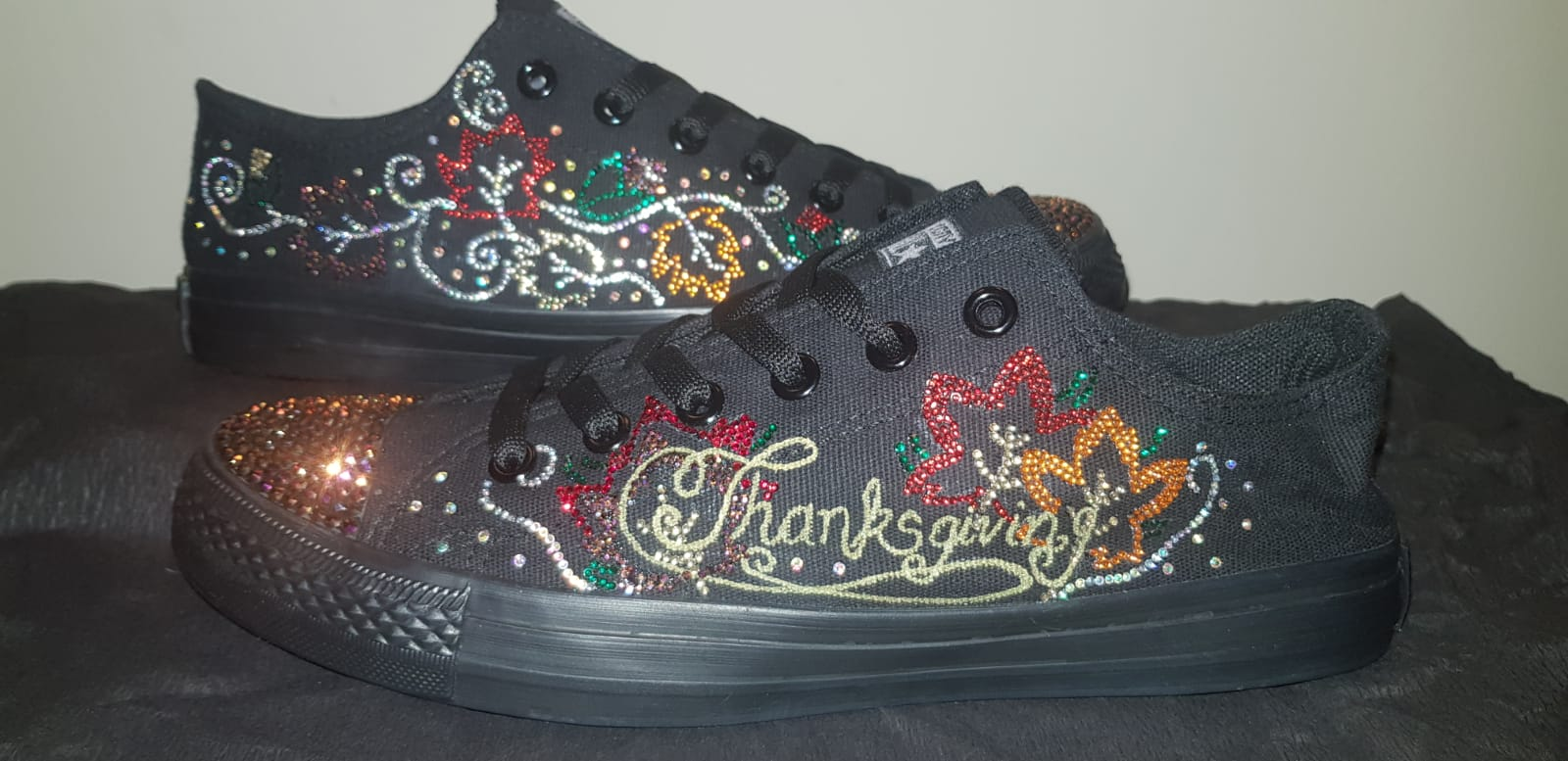 Thanksgiving Converse Low Top