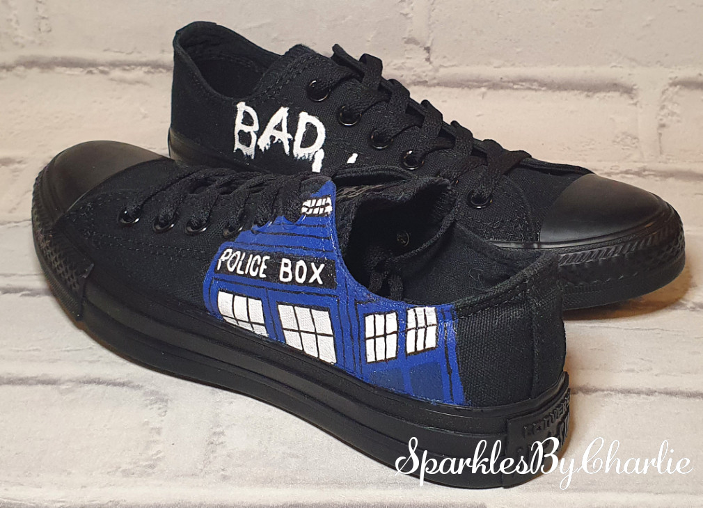 Dr Who Converse