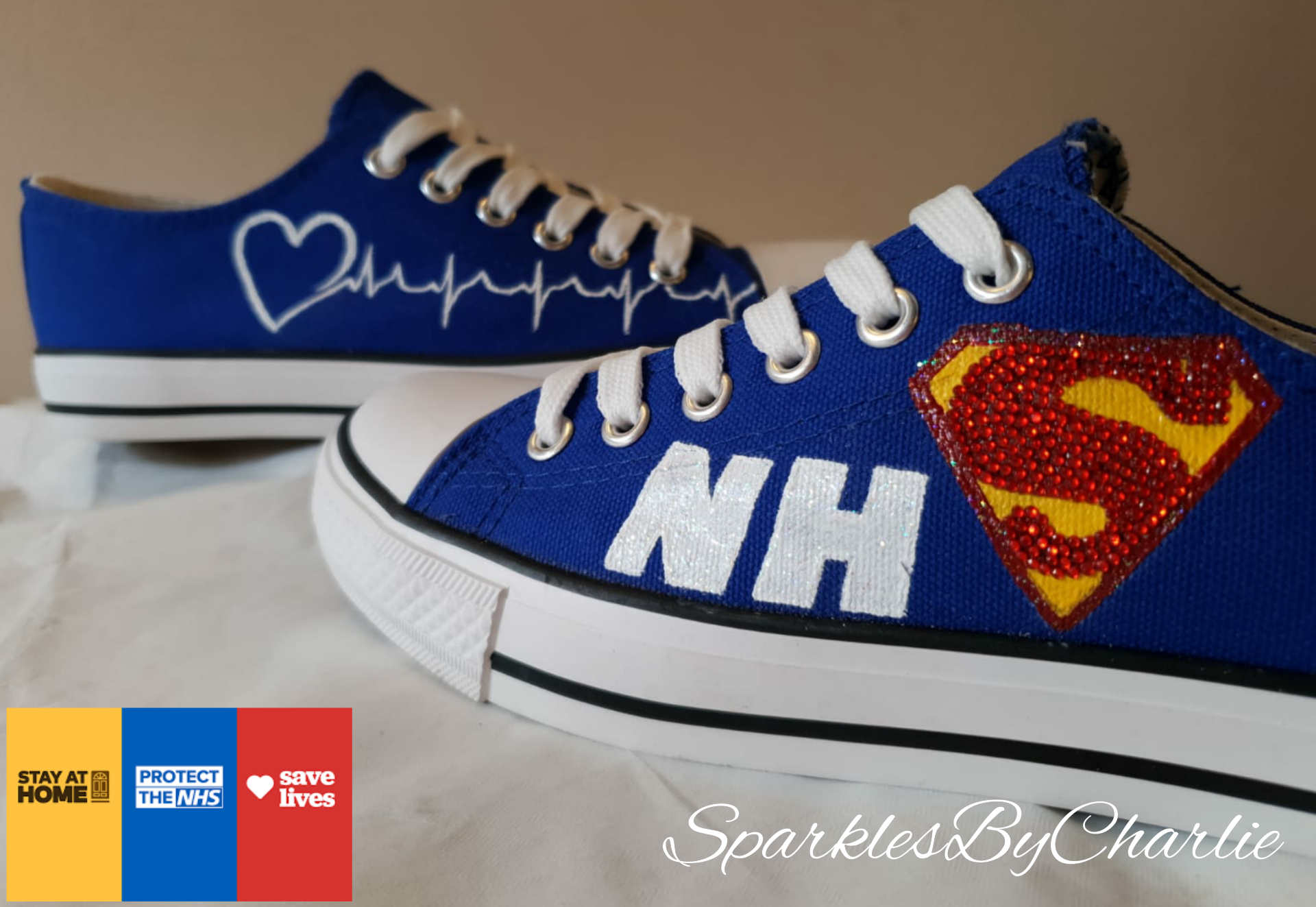 NHS Superhero Shoes