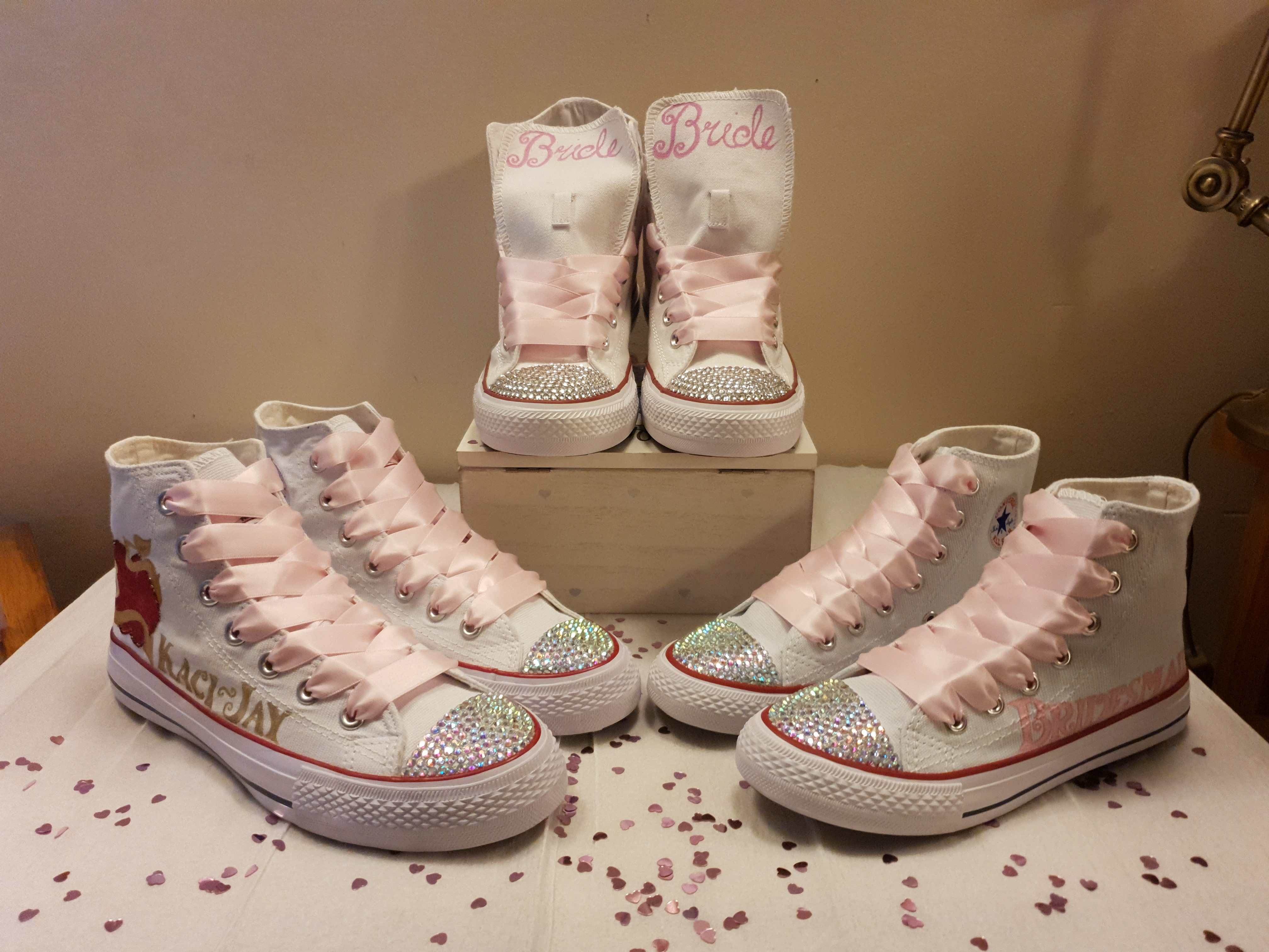 Converse Bride & Bridesmaid
