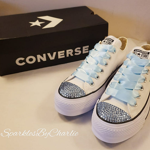 Converse Wedding Platform Shoes