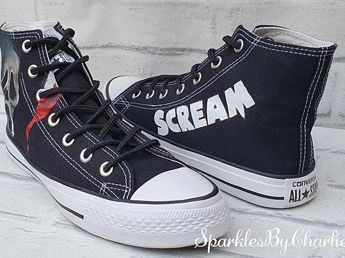 Wes Craven Scream High Top pumps