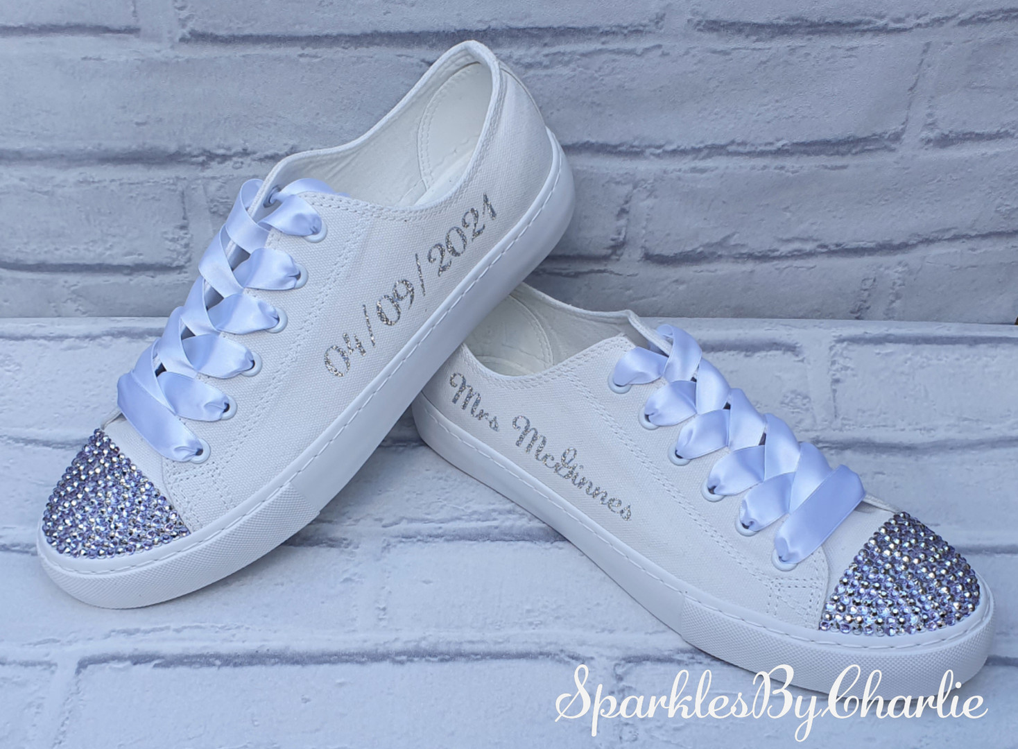 Personalised Wedding Shoes