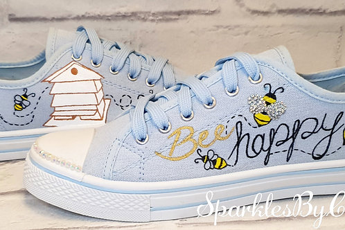 Bumblebee Canvas Shoes