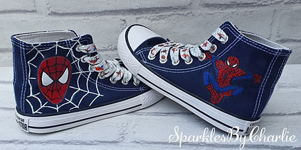 Spider Man High Tops