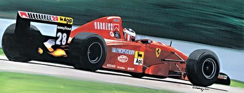 Berger's Ferrari