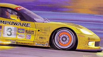 Compuware IMSA Corvette