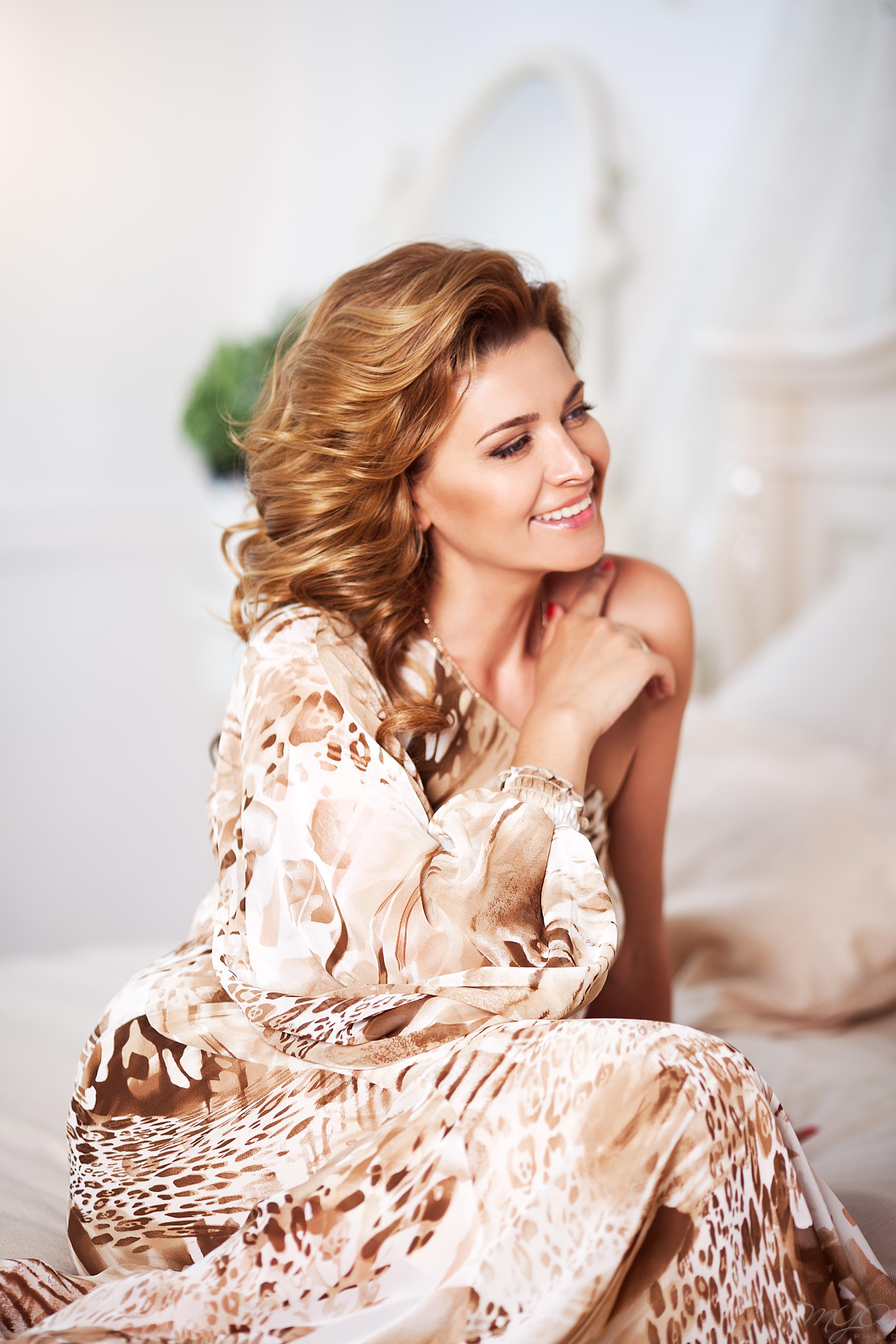 Прическа и макияж: Анна Петрова