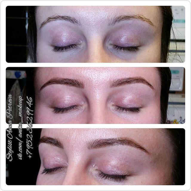 Немного поменяли форму и уже совершенно другое дело😄 В декабре еще есть окошки для бровок, макияжа