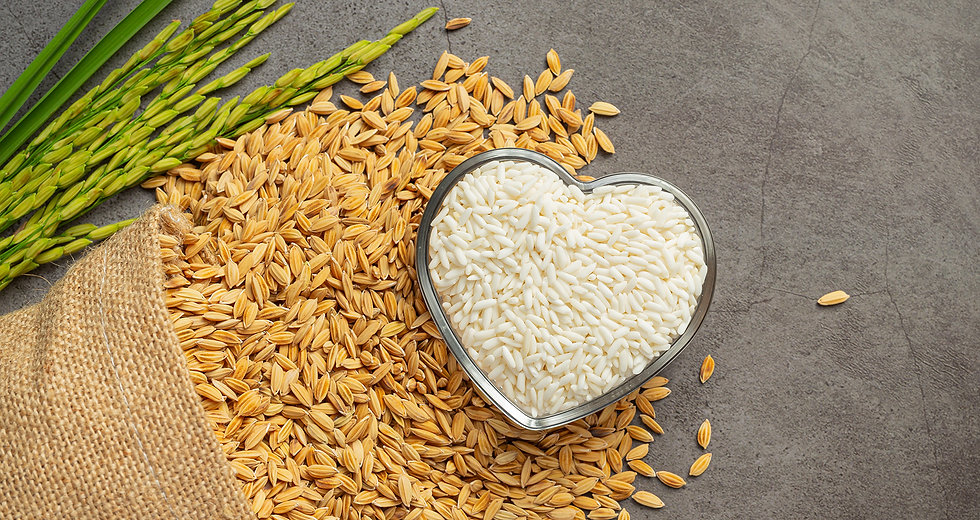 HLGK Quality Rice, Quality Life Harvested with love