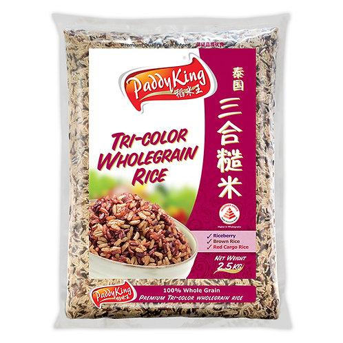 PaddyKing Thai Tri- Color Wholegrain Rice