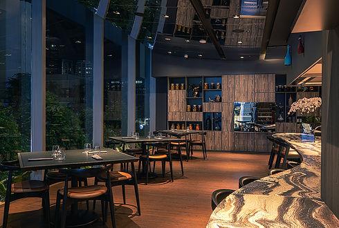 V-Dining Fine Dining Restaurant Interior
