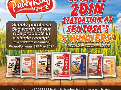 Win a 2D1N Staycation at Sentosa*