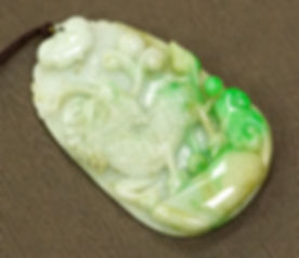 Qilin Jadeite Carving