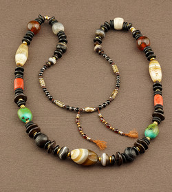 Old Agate Necklace