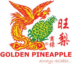 Golden Pineapple Logo