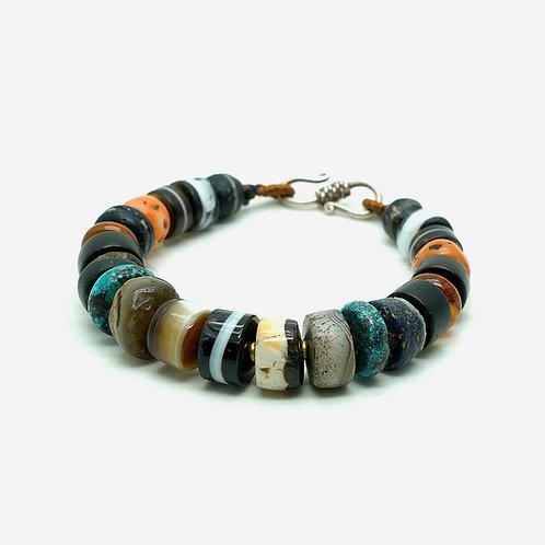 Old Medicine Beads Mixed Bracelet