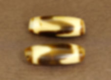 Tiger Tooth Old Dzi Beads