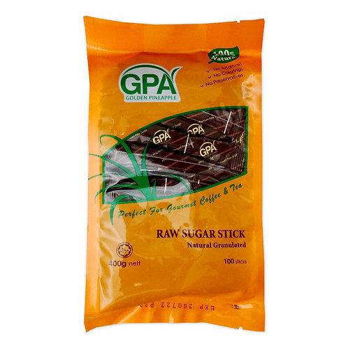 GPA Sugar - 100% Natural Raw Sugar Sticks ( 4g x 100s )