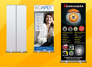 DPI Communications Promo Pull Up Banner Printing