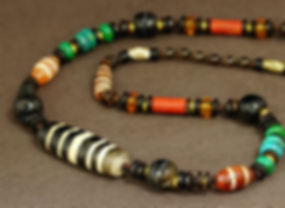 5 Lines Old Choon See Bead Necklace