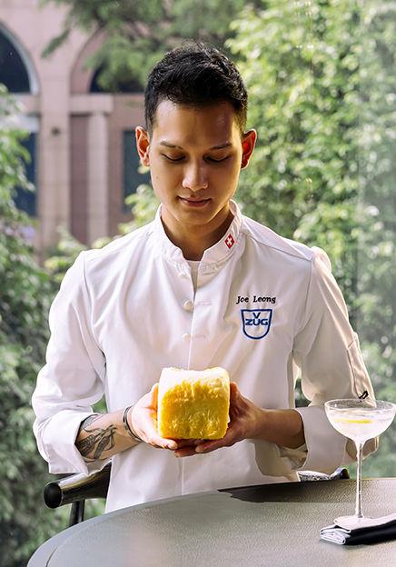 V-Dining Fine Dining Restaurant Chef Joe
