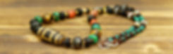 Big Sky & Earth 1 Eye Old Dzi Bead Necklace