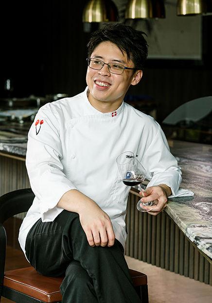 V-Dining Fine Dining Restaurant Chef Melvin