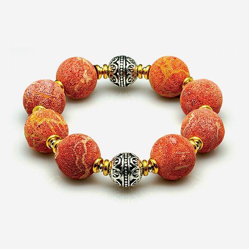 Coral Keratosis Bracelet